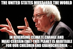 Bernie Sanders Climate Change