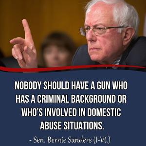 Bernie Sanders Guns